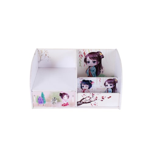Household Item Drawer Type Storage Box Handmade Creative DIY Wooden Box Water-resistent Makeup Cosmetics Organizer CaseHome &amp; Garden<br>Household Item Drawer Type Storage Box Handmade Creative DIY Wooden Box Water-resistent Makeup Cosmetics Organizer Case<br>