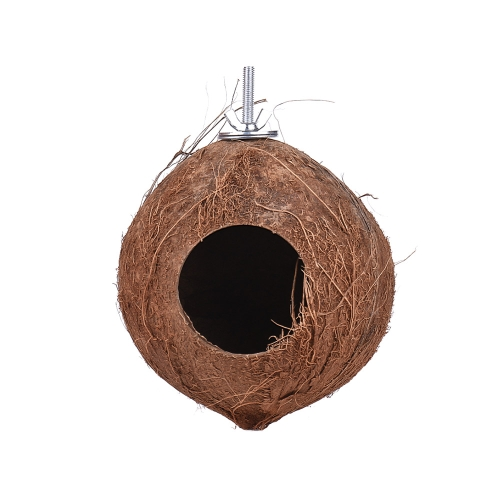 Bird House Nest Coco Hideaway Perch with Ladder Bird Cage Accessories Swing Toy for Budgerigar Macaw Parakeet CockatooHome &amp; Garden<br>Bird House Nest Coco Hideaway Perch with Ladder Bird Cage Accessories Swing Toy for Budgerigar Macaw Parakeet Cockatoo<br>
