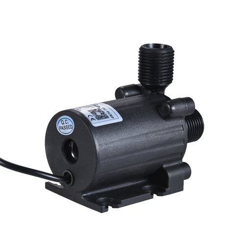Ultra-quiet Compact Size Submersible Brushless Oil Water Pump Dual Outlets Max. Lift 3 Meters 800L/H DC 12V for Fish Tank AquariumHome &amp; Garden<br>Ultra-quiet Compact Size Submersible Brushless Oil Water Pump Dual Outlets Max. Lift 3 Meters 800L/H DC 12V for Fish Tank Aquarium<br>