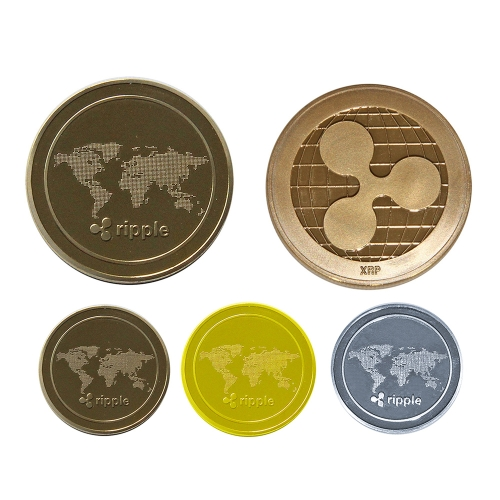 Collectible Ripple Coin Commemorative Round Collectors CoinsHome &amp; Garden<br>Collectible Ripple Coin Commemorative Round Collectors Coins<br>