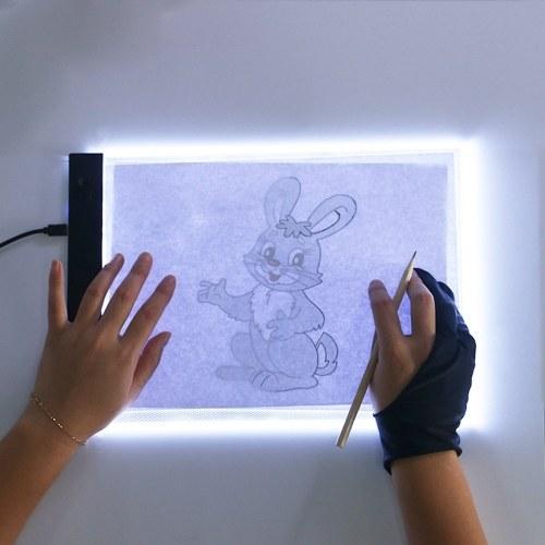 Lavagna da disegno ultra sottile con LED Light Box