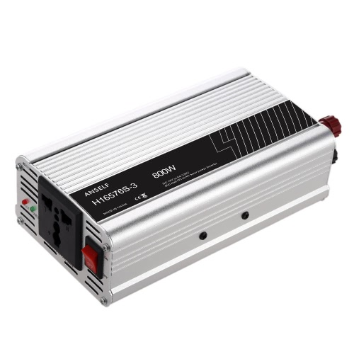 800W DC12V to AC220-240V AC Household Solar Power Inverter Converter Modified Sine Wave FormHome &amp; Garden<br>800W DC12V to AC220-240V AC Household Solar Power Inverter Converter Modified Sine Wave Form<br>