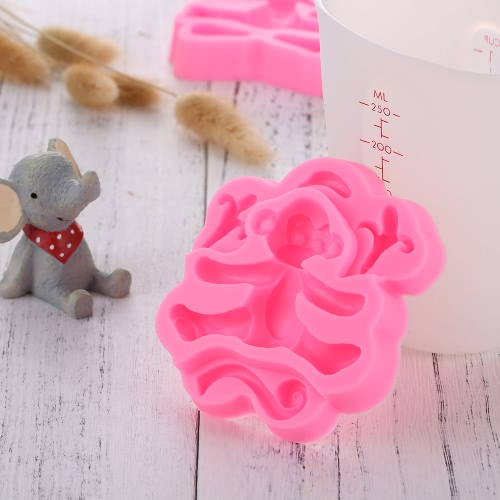 Baby Animal Rabbit Lion Elephants Giraffes Monkey Candy Jello 3D Silicone DIY Cake Chocolate Moulds Tools Cartoon Sugarcraft CookiHome &amp; Garden<br>Baby Animal Rabbit Lion Elephants Giraffes Monkey Candy Jello 3D Silicone DIY Cake Chocolate Moulds Tools Cartoon Sugarcraft Cooki<br>