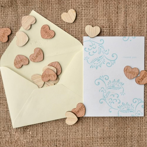 50Pcs Natural Rustic Wooden Mini Hollow Love Hearts Embellishments for Craft Decoration Slices Discs Ornaments Engraved Letters JeHome &amp; Garden<br>50Pcs Natural Rustic Wooden Mini Hollow Love Hearts Embellishments for Craft Decoration Slices Discs Ornaments Engraved Letters Je<br>
