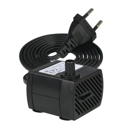 150L/H 2W Submersible Water Pump for Aquarium Tabletop Fountains Pond Water Gardens and Hydroponic Systems with One Nozzle 4.9ft(1Home &amp; Garden<br>150L/H 2W Submersible Water Pump for Aquarium Tabletop Fountains Pond Water Gardens and Hydroponic Systems with One Nozzle 4.9ft(1<br>