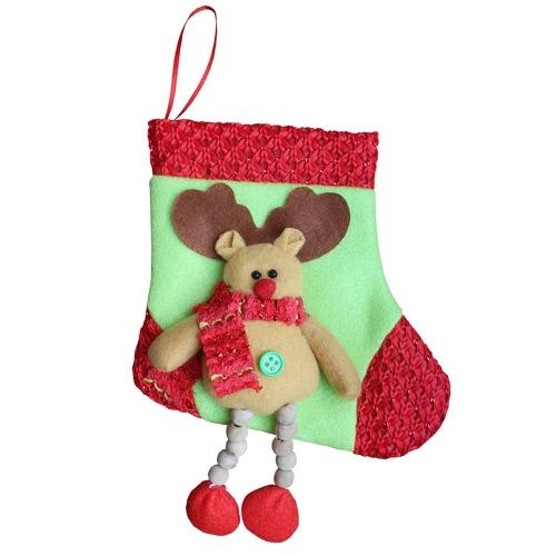 3pcs/set Christmas Hanging Stockings Santa Snowman Reindeer Gift Candy Bags Christmas Decoartions OrnamentsHome &amp; Garden<br>3pcs/set Christmas Hanging Stockings Santa Snowman Reindeer Gift Candy Bags Christmas Decoartions Ornaments<br>