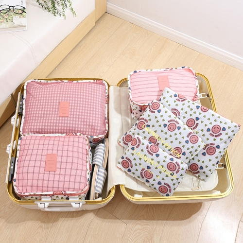 Luggage Organizer 6PCS Water-resistant Bag for Cloth Underwear Wardrobe Suitcase Pouch Packing Package Sorting for Travel BusinessHome &amp; Garden<br>Luggage Organizer 6PCS Water-resistant Bag for Cloth Underwear Wardrobe Suitcase Pouch Packing Package Sorting for Travel Business<br>