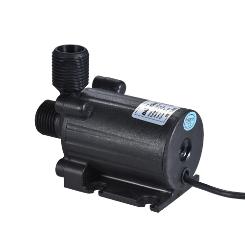 Submersible Brushless Ultra-quiet Compact Size Oil Water Pump Dual Outlets Max. Lift 5M 1000L/H DC 24V for Fish Tank Aquarium FounHome &amp; Garden<br>Submersible Brushless Ultra-quiet Compact Size Oil Water Pump Dual Outlets Max. Lift 5M 1000L/H DC 24V for Fish Tank Aquarium Foun<br>