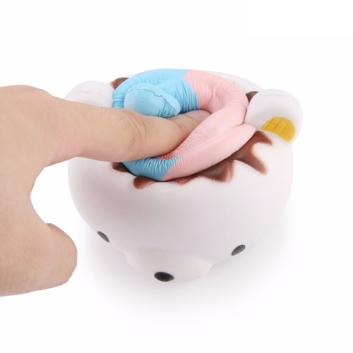 Cute Cartoon Ice Cream Bear Slow Rising Squishy Kids Fun Stress Relief Toy Funny Gift Phone Straps Reliefing Doll Home Party DecorHome &amp; Garden<br>Cute Cartoon Ice Cream Bear Slow Rising Squishy Kids Fun Stress Relief Toy Funny Gift Phone Straps Reliefing Doll Home Party Decor<br>
