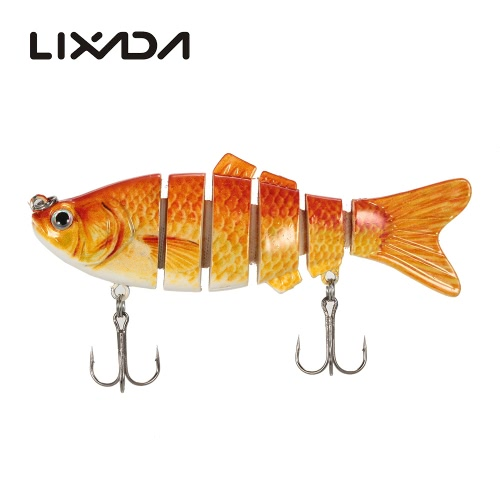 Lixada 10cm/20g Lifelike 6 Jointed Sections Swimbait Fishing Lure Crankbait Hard Bait Fish Hook Fishing TackleSports &amp; Outdoor<br>Lixada 10cm/20g Lifelike 6 Jointed Sections Swimbait Fishing Lure Crankbait Hard Bait Fish Hook Fishing Tackle<br>