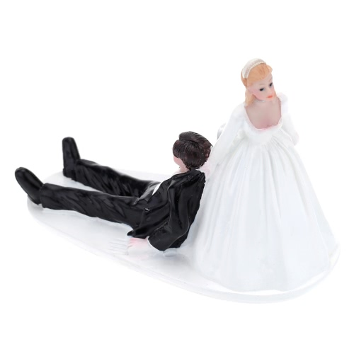 High Quality Synthetic Resin Bride &amp; Groom Wedding Cake Topper Romantic Wedding Party Decoration Adorable Figurine Craft GiftHome &amp; Garden<br>High Quality Synthetic Resin Bride &amp; Groom Wedding Cake Topper Romantic Wedding Party Decoration Adorable Figurine Craft Gift<br>