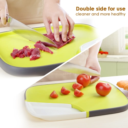 Anself Multi-purpose Antimicrobial Cutting Board Kitchen Chopping Board PP PlasticHome &amp; Garden<br>Anself Multi-purpose Antimicrobial Cutting Board Kitchen Chopping Board PP Plastic<br>