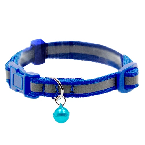 3pcs Reflective Cat Dog Pet Puppy Collar with Bell Solid &amp; Safety 1cm Width 19-30cm Length AdjustableHome &amp; Garden<br>3pcs Reflective Cat Dog Pet Puppy Collar with Bell Solid &amp; Safety 1cm Width 19-30cm Length Adjustable<br>
