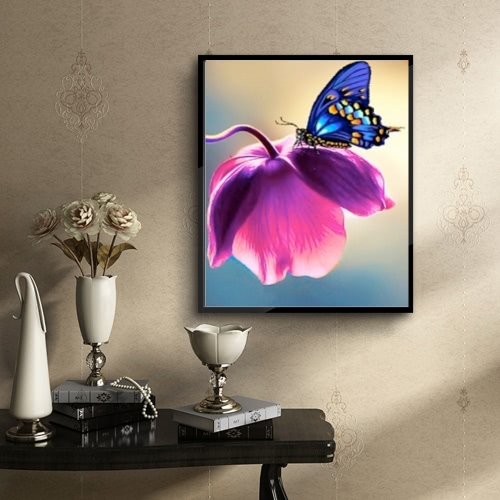 Luxury Diamond Painting Of Butterfly Shiny And OriginalHome &amp; Garden<br>Luxury Diamond Painting Of Butterfly Shiny And Original<br>