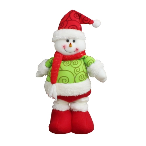 Christmas Extendable Standing Doll Toy Santa/Snowman/Reindeer Xmas Party Decorations Ornaments Christmas GiftHome &amp; Garden<br>Christmas Extendable Standing Doll Toy Santa/Snowman/Reindeer Xmas Party Decorations Ornaments Christmas Gift<br>