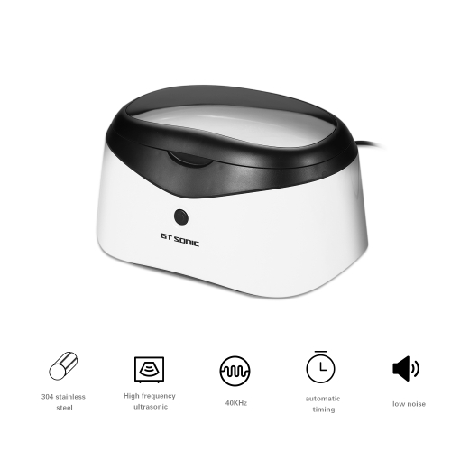 35W Smart Ultrasonic Cleaner for Jewelry Glasses Intelligent Control Bath Circuit Board Cleaning Machine  EU PlugHome &amp; Garden<br>35W Smart Ultrasonic Cleaner for Jewelry Glasses Intelligent Control Bath Circuit Board Cleaning Machine  EU Plug<br>