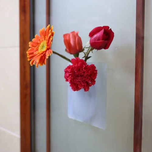 Innovative Antigravity Osculum Vase Silicone Magic Vase Wall Hanging Vase for Water Planting Plants Simple Style Decoration for HoHome &amp; Garden<br>Innovative Antigravity Osculum Vase Silicone Magic Vase Wall Hanging Vase for Water Planting Plants Simple Style Decoration for Ho<br>