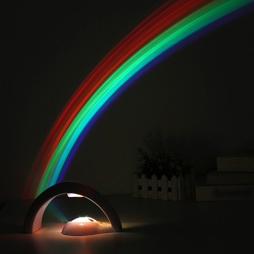 Lucky Rainbow Light Amazing Projector 3D LED Lamp