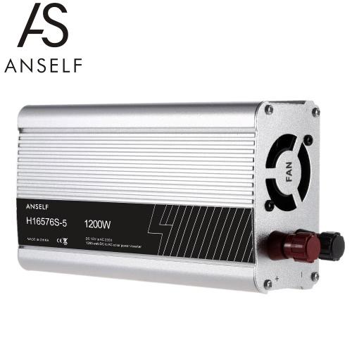 1200W DC12V to AC220-240V AC Household Solar Power Inverter Converter Modified Sine Wave FormHome &amp; Garden<br>1200W DC12V to AC220-240V AC Household Solar Power Inverter Converter Modified Sine Wave Form<br>