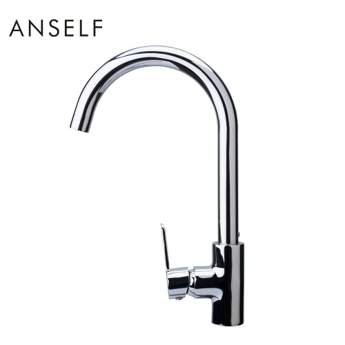 Anself FN105726 Modern Style Single Handle Kitchen Sink Faucet Excellent Water Faucet High Quality All-copper Sink TapHome &amp; Garden<br>Anself FN105726 Modern Style Single Handle Kitchen Sink Faucet Excellent Water Faucet High Quality All-copper Sink Tap<br>