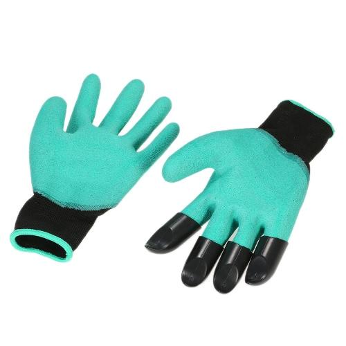 1 пара пластиковых когтей (правая рука) садово-огородные перчатки копания посадочный завод цветок обрезка защитный унисекс Quick & Easy