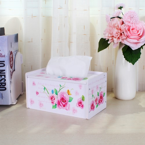 Creative DIY Household Item Special Order Tissue Box Water-resistant Paper Towel Box Rectangle Napkin ContainerHome &amp; Garden<br>Creative DIY Household Item Special Order Tissue Box Water-resistant Paper Towel Box Rectangle Napkin Container<br>