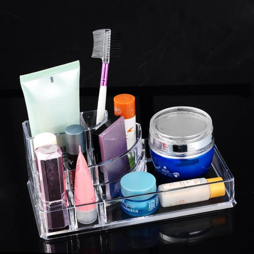 Crystal Transparent Acrylic Cosmetic Case Cosmetic Makeup Organizer Removable Jewelry Display Box Kitchen Bathroom Collection OrgaHome &amp; Garden<br>Crystal Transparent Acrylic Cosmetic Case Cosmetic Makeup Organizer Removable Jewelry Display Box Kitchen Bathroom Collection Orga<br>