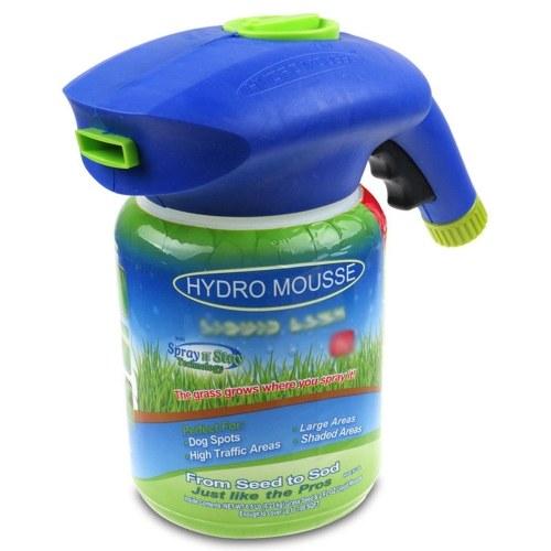 Botella de pulverizador para jardín Hydro Mousse Liquid Lawn Grass Growth (sin semillas ni sustancia de crecimiento)
