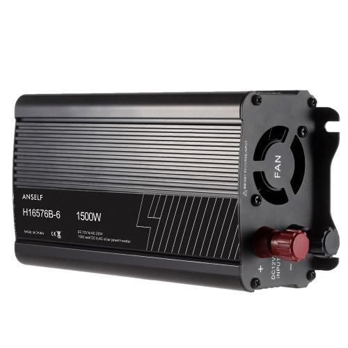 1500W DC12V per AC220-240V AC casa energia solare Inverter convertitore forma di onda sinusoidale modificata