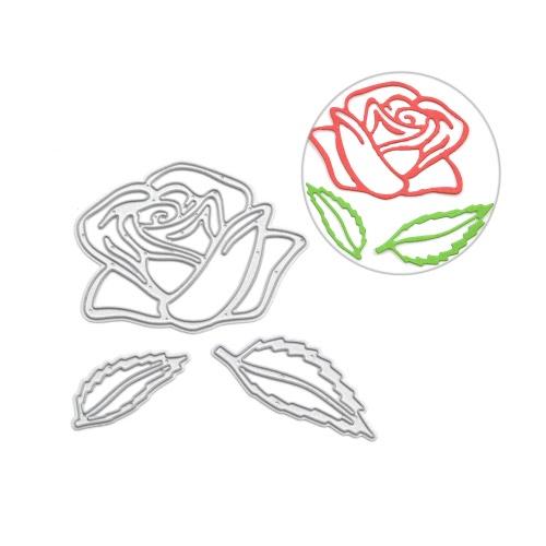 Metal Rose Flower Carbon Steel Template Embossing Cutting Dies Stencil Scrapbooking Decorative DIY Craft Paper CardHome &amp; Garden<br>Metal Rose Flower Carbon Steel Template Embossing Cutting Dies Stencil Scrapbooking Decorative DIY Craft Paper Card<br>