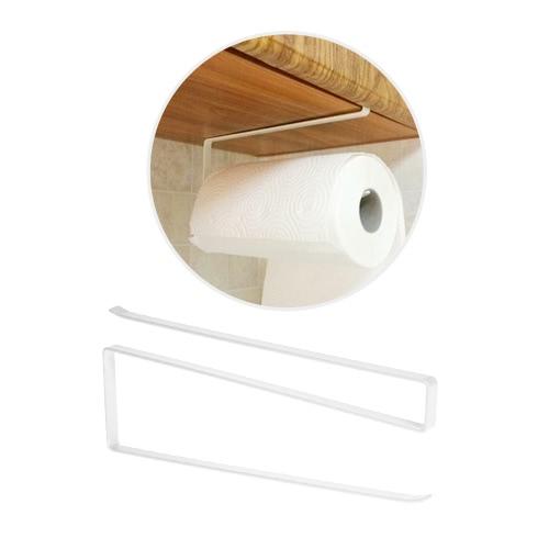 Kitchen Under Cabinet Roll Tissue Rack Paper Towel Holder Hanger Tissue Hanging Shelf for Bathroom Garage Laundry RoomHome &amp; Garden<br>Kitchen Under Cabinet Roll Tissue Rack Paper Towel Holder Hanger Tissue Hanging Shelf for Bathroom Garage Laundry Room<br>