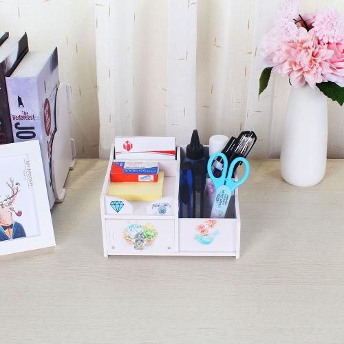 Office Desk Multi-Purpose DIY Storage Box Water-resistent Pen Pencil Holder Cosmetics Makeup Organizer Container CaseHome &amp; Garden<br>Office Desk Multi-Purpose DIY Storage Box Water-resistent Pen Pencil Holder Cosmetics Makeup Organizer Container Case<br>