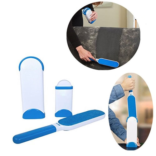 Reusable Pet Fur Lint Remover Portable Travel Size Hair Cleaner Brusher with Self-CleaningHome &amp; Garden<br>Reusable Pet Fur Lint Remover Portable Travel Size Hair Cleaner Brusher with Self-Cleaning<br>