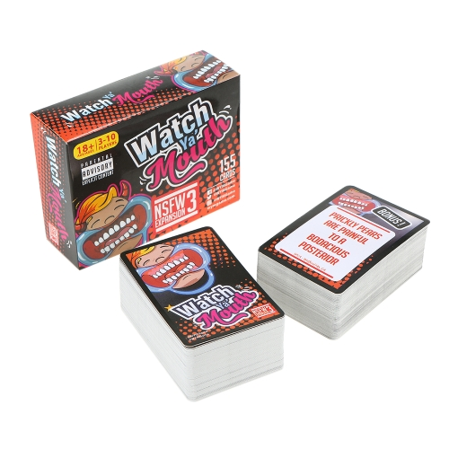 Watch Ya Mouth Family Edition The Authentic Hilarious Mouthguard Party Card GameHome &amp; Garden<br>Watch Ya Mouth Family Edition The Authentic Hilarious Mouthguard Party Card Game<br>
