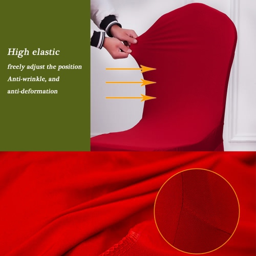 Universal Removable Washable Elastic Cloth Stretch Chair Cover Slipcover 20 Colors Available Home Dining Room Hotel Wedding BanqueHome &amp; Garden<br>Universal Removable Washable Elastic Cloth Stretch Chair Cover Slipcover 20 Colors Available Home Dining Room Hotel Wedding Banque<br>