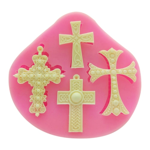 1Pcs 100% Food Grade Silicone Baking Candy Chocolate Mold Mould Cross Pattern Bakeware Decorating Decoration DIY Mould Soap Die RaHome &amp; Garden<br>1Pcs 100% Food Grade Silicone Baking Candy Chocolate Mold Mould Cross Pattern Bakeware Decorating Decoration DIY Mould Soap Die Ra<br>