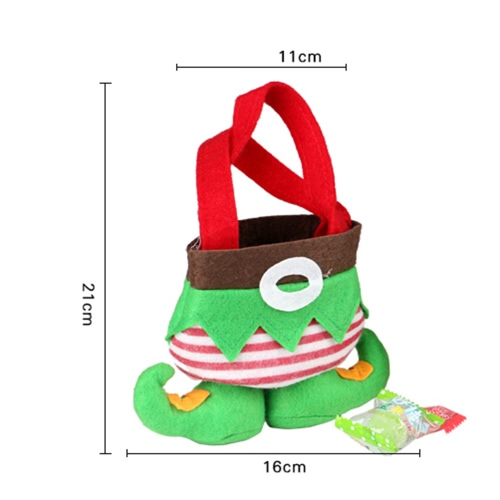 New Christmas Gift Two Bags Santa Spirit Candy Bags Holiday Christmas Decorations Lovely Gift for ChildrenHome &amp; Garden<br>New Christmas Gift Two Bags Santa Spirit Candy Bags Holiday Christmas Decorations Lovely Gift for Children<br>