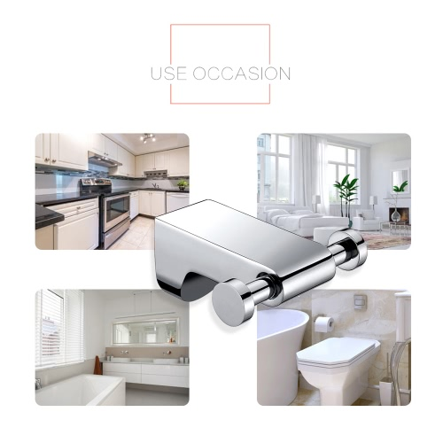 Homgeek High-quality Wall Mounted Stainless Steel Metal Chromed Clothes Garment Dress Towel Hanging Hook Hanger for Bathroom BedroHome &amp; Garden<br>Homgeek High-quality Wall Mounted Stainless Steel Metal Chromed Clothes Garment Dress Towel Hanging Hook Hanger for Bathroom Bedro<br>