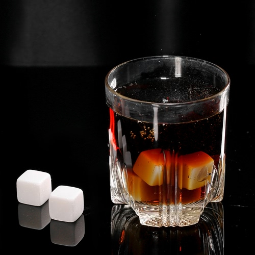 Anself 6pcs 18mm Whisky Ice Stones Drinks Cooler Cubes Beer Rocks Granite with PouchHome &amp; Garden<br>Anself 6pcs 18mm Whisky Ice Stones Drinks Cooler Cubes Beer Rocks Granite with Pouch<br>