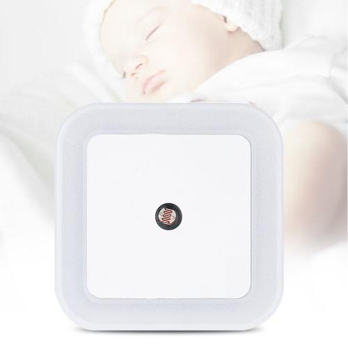 4pcs Square Light Sensor Baby Room Nursery White LED Night Light Wall Nightlight AC110V-220VHome &amp; Garden<br>4pcs Square Light Sensor Baby Room Nursery White LED Night Light Wall Nightlight AC110V-220V<br>