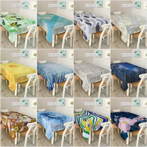 84 * 60 Rectangular Dinner Table Cloth Polyester Printed Coffee Table Cover Tablecloths Home DecoartionHome &amp; Garden<br>84 * 60 Rectangular Dinner Table Cloth Polyester Printed Coffee Table Cover Tablecloths Home Decoartion<br>