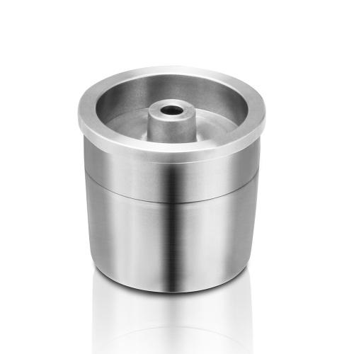 El café rellenable del acero inoxidable capsula la taza reutilizable de la cápsula del café