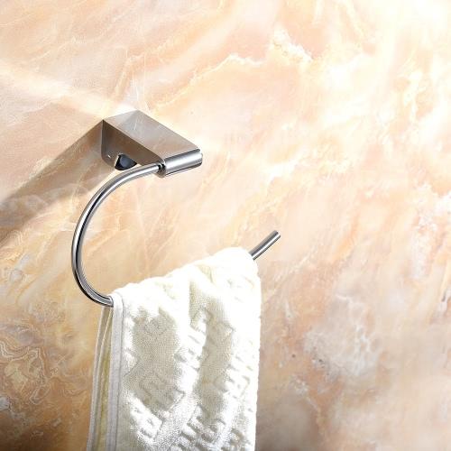 Homgeek Wall Mounted Chromed Stainless Steel Towel Toilet Paper Tissue Rack Holder Hanger for Bathroom Storage Kitchen HotelHome &amp; Garden<br>Homgeek Wall Mounted Chromed Stainless Steel Towel Toilet Paper Tissue Rack Holder Hanger for Bathroom Storage Kitchen Hotel<br>