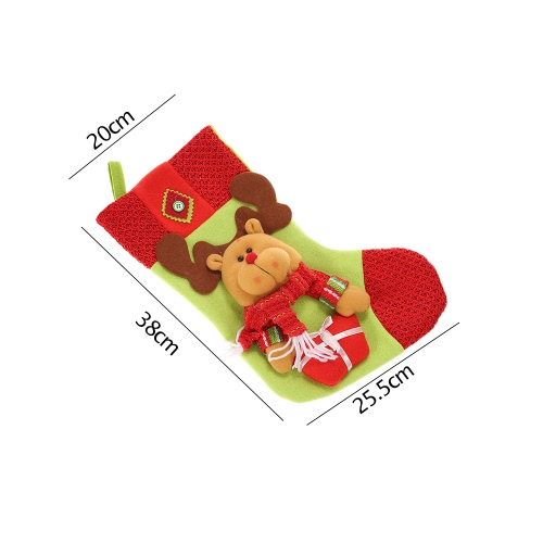 Festnight 3pcs Large Christmas Stockings Lovely Santa Claus Snowman Reindeer Socks Kids Gift Bags Christmas Tree Hanging OrnamentsHome &amp; Garden<br>Festnight 3pcs Large Christmas Stockings Lovely Santa Claus Snowman Reindeer Socks Kids Gift Bags Christmas Tree Hanging Ornaments<br>