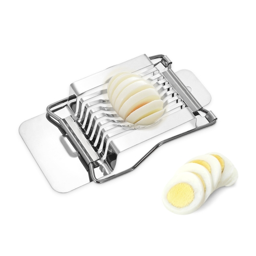 Kitchen Stainless Steel Egg Slicer Wire Egg Cheeses Chopper Dicer Cutter Tool for Salads SandwichesHome &amp; Garden<br>Kitchen Stainless Steel Egg Slicer Wire Egg Cheeses Chopper Dicer Cutter Tool for Salads Sandwiches<br>