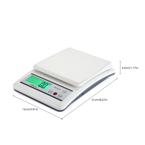 WeiHeng Mini Electronic Platform Scale Digital Kitchen Scale with Stainless Steel Platform Food Scale with Count Function and TareHome &amp; Garden<br>WeiHeng Mini Electronic Platform Scale Digital Kitchen Scale with Stainless Steel Platform Food Scale with Count Function and Tare<br>