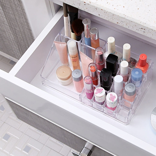 Transparent Plastic Storage Box Cosmetic Organizer Makeup Drawers Case for Bedroom Bathroom Girlfriend GiftHome &amp; Garden<br>Transparent Plastic Storage Box Cosmetic Organizer Makeup Drawers Case for Bedroom Bathroom Girlfriend Gift<br>