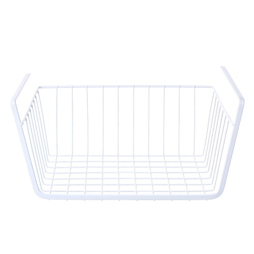 Metal Wire Under Shelf Hanging Storage Basket