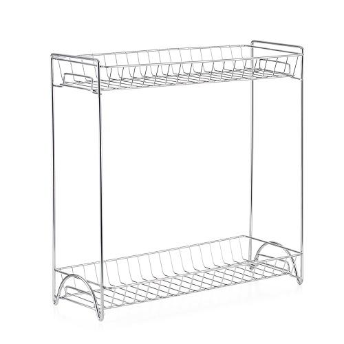 2-Tier Kitchen Bathroom Countertop Storage Organizer