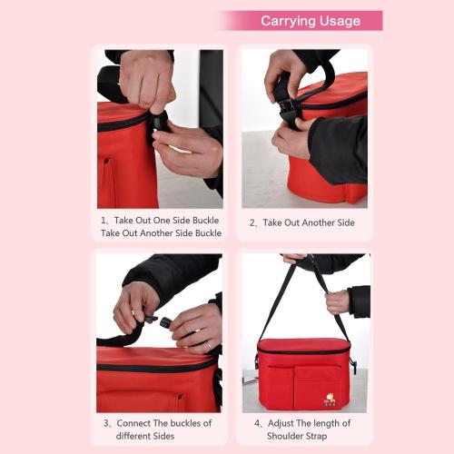 Baby Diaper Shoulder Bag Mummy Handbag Stroller Saddlebag Water Resistant Thermal InsulationHome &amp; Garden<br>Baby Diaper Shoulder Bag Mummy Handbag Stroller Saddlebag Water Resistant Thermal Insulation<br>